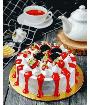 Картина за номерами -Апетитний тортик