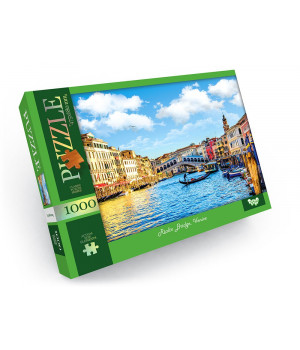 Пазл Rialto Bridge,Venise 1000 елементів