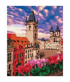 Картина для розпису за номерами - Неймовірна Прага