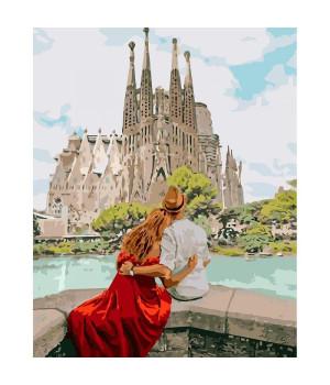 Картина для розпису по номерах- Романтична Іспанія