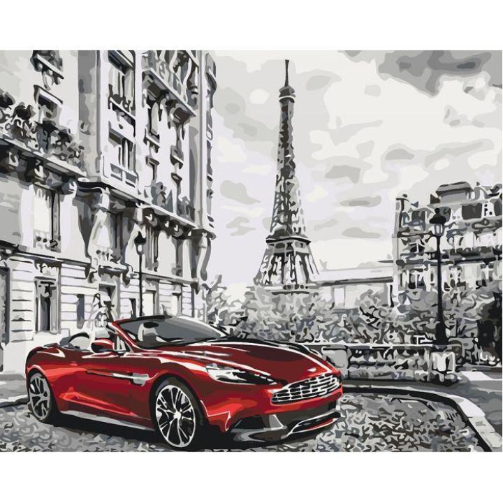 Картина по номерам - Паризький ранок