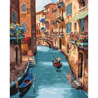 Картина по номерам - Сонячна Венеція