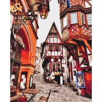Розпис по номерах- Яскраві вулички Німеччини