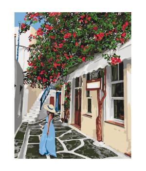 Картина по номерам - Затишними вулочками (КНО2263)