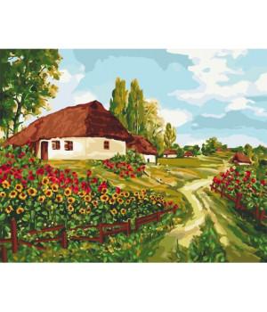 Картина по номерам - Українськими стежками (КНО2277)