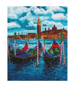 Картина по номерам - Венеціанське таксі (КНО2749)