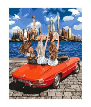 Картина по номерам - Дівчатка-подружки (КНО4712)